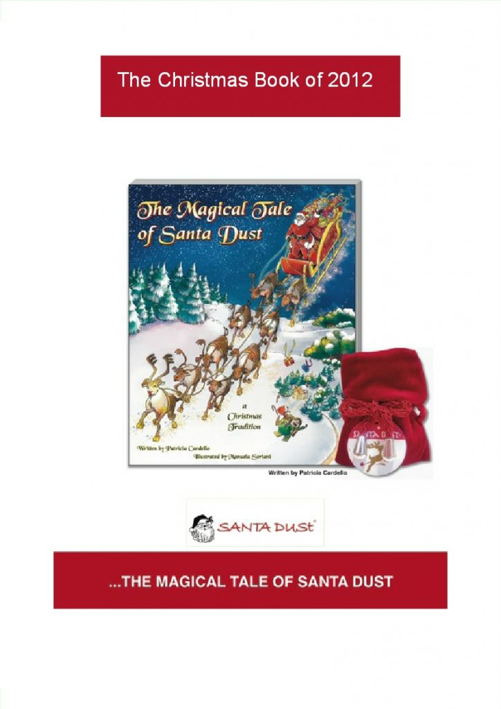 Childrens books book reviews by susan keefe a magical enchanting story for christmas in hardcover with a pouch of santa dust included fandeluxe Choice Image
