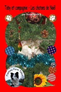 Christmas Kittens Front Cover French